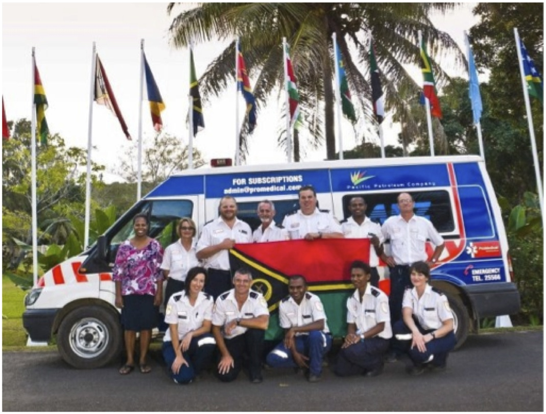 Fundraising for Vanuatu's Paramedic Ambulance Service