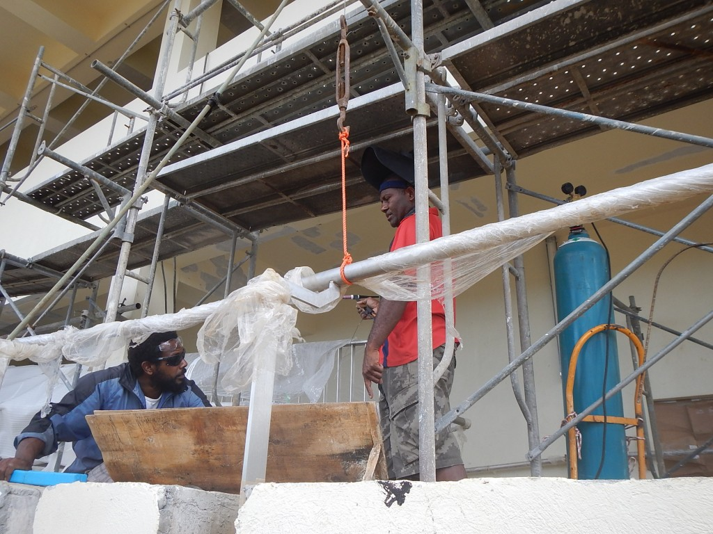 Port Vila Boatyard Aid Project Support